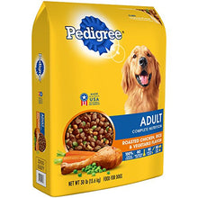 PEDIGREE Adult Complete Nutrition Roasted Chicken, Rice & Vegetable Flavor Dry Dog Food 30 Pounds - Kaulana Pets