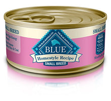 Blue Buffalo Homestyle Recipe Natural Adult Small Breed Wet Dog Food, Chicken 5.5-oz can (Pack of 24) - Kaulana Pets