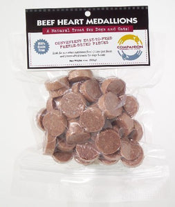 Fresh is Best Freeze-Dried Beef Heart Medallions - Kaulana Pets