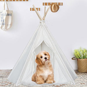 Teepee Tent Dog & Cat Bed dog bed  Kaulana Pets