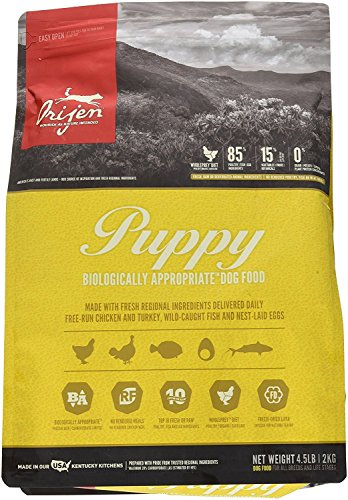 Orijen 4.5 LB Puppy Dry Dog Food Formula. (1 Pack) Grain Free Puppy Food - Kaulana Pets
