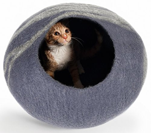 Handcrafted Cat Cave cat bed  Kaulana Pets