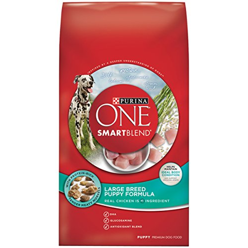 Purina ONE SmartBlend Puppy Large Breed Formula Dry Dog Food - (1) 16.5 lb. Bag - Kaulana Pets