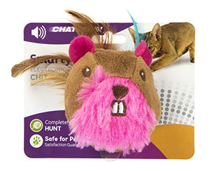 SmartyKat Chit Chatter Touch-Activated Sound E-Toy for Cats cat toy  Kaulana Pets