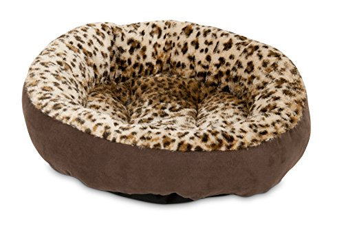 Round Bed Animal Print - Kaulana Pets