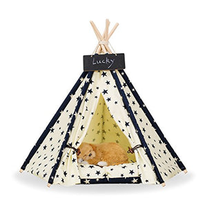 Zaihe Pet Teepee Dog & Cat Bed dog house  Kaulana Pets