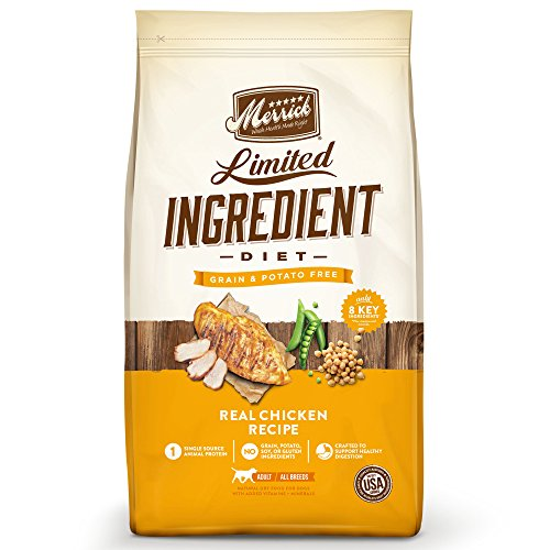 Merrick Dry Dog Food with Vitamins & Minerals for All Breeds , 22 lb, Chicken - Kaulana Pets