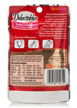 Hartz Delectables Bisque Lickable Cat Treats for Senior Cats 15+ years, Tuna & Chicken, 1.4 oz, Pack of 12 - Kaulana Pets