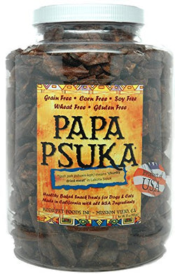 Papa Psuka -- Baked Chunky Dried Meat 32oz dog treats  Kaulana Pets