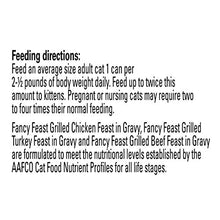 Purina Fancy Feast Grilled Poultry & Beef Collection Cat Food - (24) 3 oz. Cans - Kaulana Pets