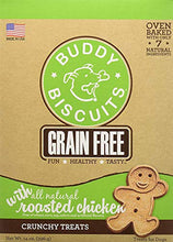 BUDDY BISCUITS Grain Free Oven Baked Buddy Biscuits Dog Treats, Rotisserie Chicken, 28-Ounce - Kaulana Pets