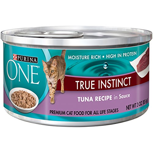 Purina ONE True Instinct In Sauce Wet Cat Food - (24) 3 oz.Cans - Kaulana Pets