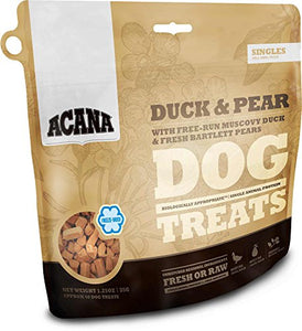 Acana Duck and Pear Freeze-Dried Dog Treats, 1.25 ounces dog treats  Kaulana Pets