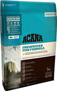 Acana Heritage Freshwater Fish Dog Food, 4.5 pounds dog food  Kaulana Pets