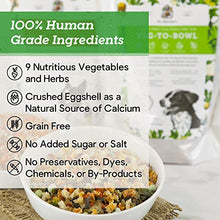 Dr. Harvey's Veg-to-Bowl Dog Food, Human Grade Dehydrated Base Mix for Dogs, Grain Free Holistic Mix (5 Pounds) - Kaulana Pets