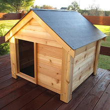 Infinite Cedar DogHouse - Kaulana Pets