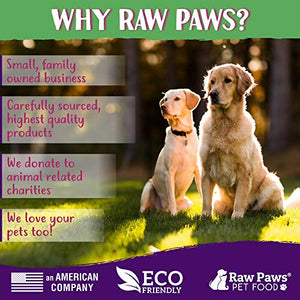 Raw Paws Pet Free-Range Freeze Dried Beef Green Tripe Cat Treats & Dog Treats, 8-oz - Made in USA - Raw Freeze Dried Dog Treats - Grass-Fed Cows - Grain & Wheat Free - Raw Tripe Treats for Dogs - Kaulana Pets