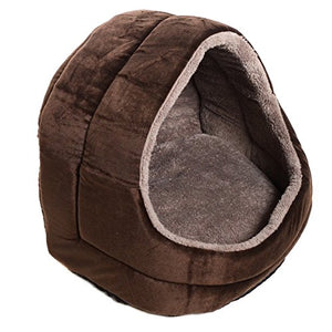 Premium Plush Pet Cave cat bed  Kaulana Pets