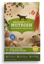 Rachael Ray Nutrish Natural Dry Dog Food, Real Chicken & Veggies Recipe, 40 lb - Kaulana Pets
