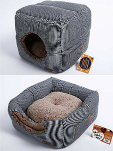 Cat Cube With Thick Organic Cotton - Kaulana Pets