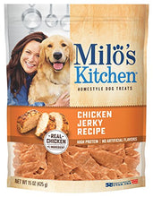 Milo's Kitchen Chicken Jerky Strips Dog Treats, 15-Ounce - Kaulana Pets