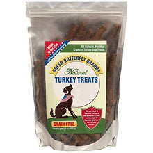 Green Butterfly Brands Grain Free Dog Treats – Made in USA Only – All Natural, Healthy Crunchy Turkey Sticks – Dogs Love – Limited Ingredients – No Additives or Preservatives, 16 oz. - Kaulana Pets