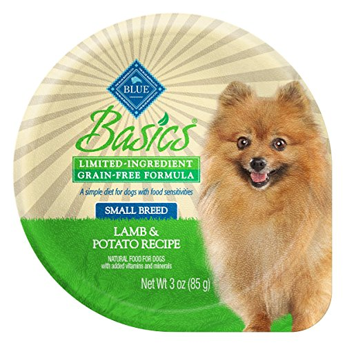 BLUE Basics Limited Ingredient Diet Adult Small Breed Grain-Free Lamb & Potato  Wet Dog Food 3-oz (Pack of 12) - Kaulana Pets