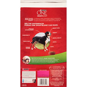 Purina ONE SmartBlend Lamb & Rice Formula Premium Dog Food 4 lb. Bag (Pack of 2) - Kaulana Pets