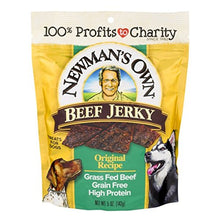 Newman's Own Beef Jerky Treats For Dogs, Original Recipe, 5-Oz. - Kaulana Pets