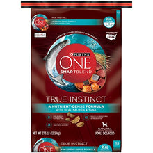 Purina ONE SmartBlend True Instinct with Real Salmon & Tuna NATURAL Adult Adult Dry Food - (1) 27.5 lb. Bag - Kaulana Pets