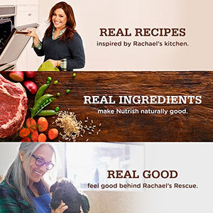 Rachael Ray Nutrish Zero Grain Natural Dry Dog Food, Turkey & Potato Recipe, Grain Free, 28 lbs - Kaulana Pets