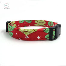 red dog collar  bow tie  personal custom pet pupply designer  handmade DIY product dog &cat necklace jewelry - Kaulana Pets