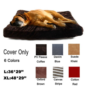Cover For Pet Cat Dog Kennel Mat Cozy Warm Nest Bed Cover Solid Cushion Cover Dog House Lovely Soft Pet Products Bedding set - Kaulana Pets