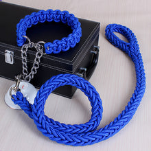Braided Paracord Rope Style Leash and Collar Combo - Kaulana Pets