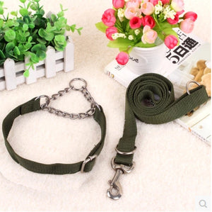 Nylon Pet Dog Collar Leash Set Adjustable For Small Medium Large Dog leash running collars for small dogs leash pet products - Kaulana Pets