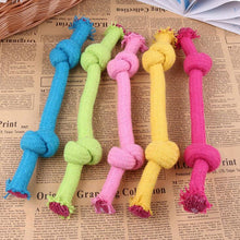 Wholesale dog toys colorful smart cute dog rope toys 16cm 23cm braided pet toys for dog training products for small large dogs - Kaulana Pets