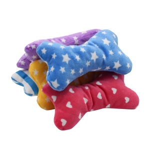 Plush Bone Squeaky Toy - Kaulana Pets