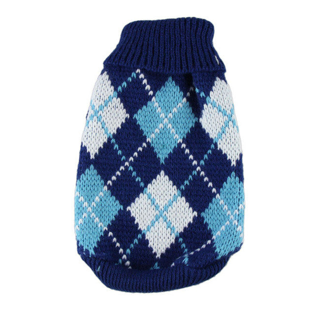 Argyle Sweater for Dogs - Kaulana Pets