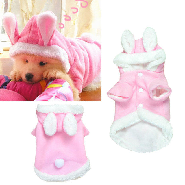 Pet dog clothes winter Rabbit Clothing Puppy Large Medium Pet Dog Winter Warm Clothes dog clothing fur coat ropa para perro - Kaulana Pets