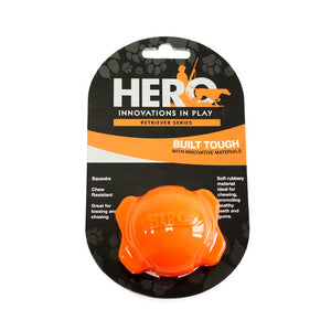 Hero Squeaking Ball Dog Toy - Kaulana Pets