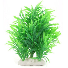 23cm Underwater Artificial Aquatic Plant Ornaments Aquarium Green Water Grass Decor Landscape Fish Tank Decoration - Kaulana Pets
