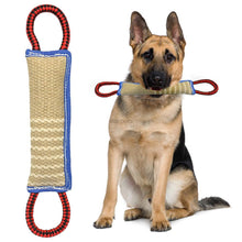 Linen K9 Tug Toy With Two Handles For Adult Dogs And Puppies For Dogs Pet Training Play Throw - Kaulana Pets