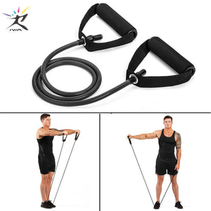 120cm Fitness Pull Rope Elastic Resistance Bands