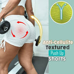 High Waist Brazilian Booty Scrunch Anti-cellulite Textured Push Up Shorts