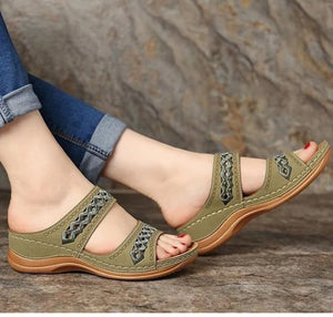Premium Wedge Open Toe Bunion Corrector Orthopedic Sandals