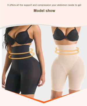 High Waist Tummy Control Booty Lift Slimming Shaper
