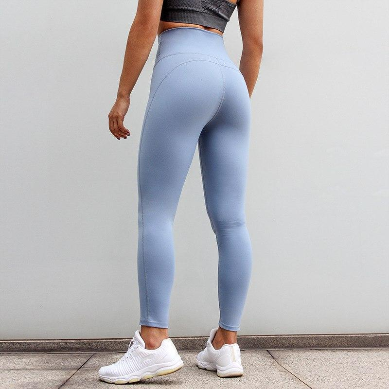 High Waist V-Taper Contouring Push up Workout Leggings