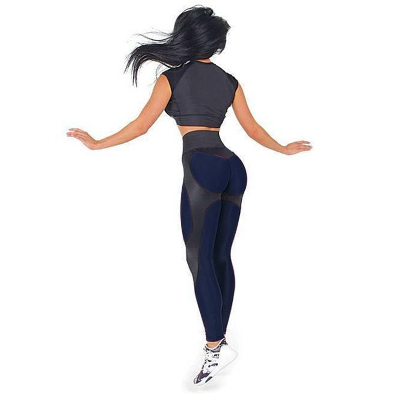 High Waist Contour Adventure Push Up Fitness Leggings