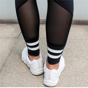 High Waist Future Push Up Mesh Legging