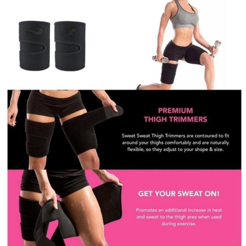 Neoprene Leg Shaper Sauna Sweat Thigh Trimmers